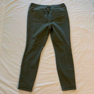 a.n.a Jeans - Bundle 3/$70 a.n.a. Olive Green Distressed Jegging